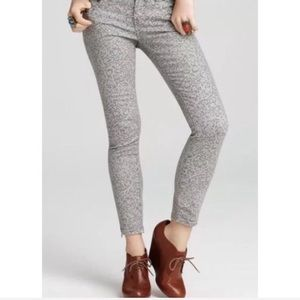 Free People Gray Ankle Jeans